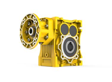 Helical gear-worm gear reducer JWG